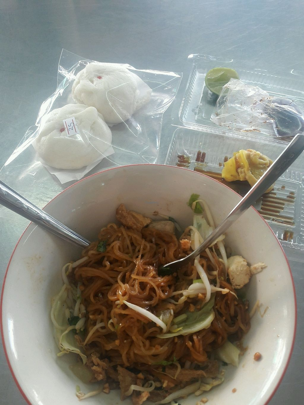 """Photo of REMOVED: Jair  by <a href=""""/members/profile/DanJy"""">DanJy</a> <br/>noodles bun and dumplings 100% vegan <br/> December 29, 2017  - <a href='/contact/abuse/image/86066/340314'>Report</a>"""