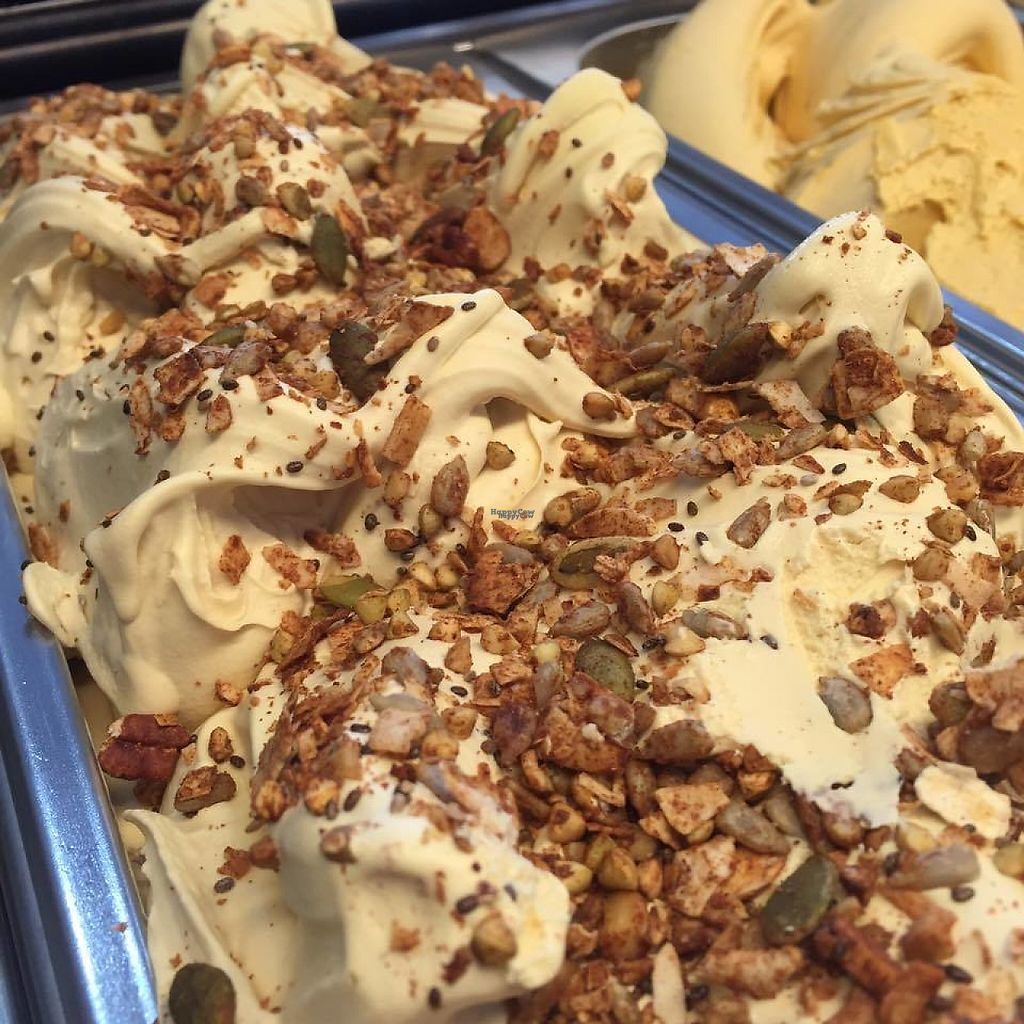 """Photo of 48 Flavours  by <a href=""""/members/profile/community"""">community</a> <br/>Vegan Caramel Granola Crunch <br/> January 26, 2017  - <a href='/contact/abuse/image/86071/217518'>Report</a>"""