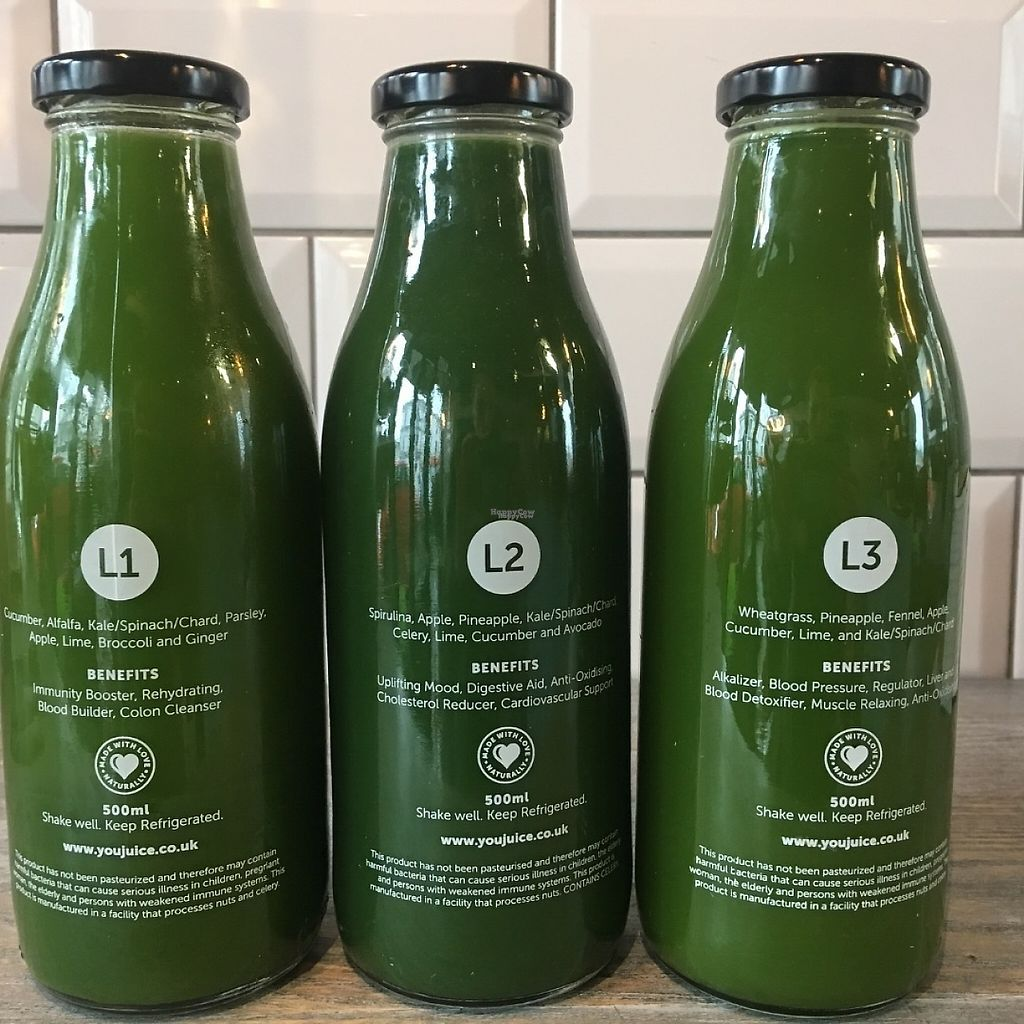 """Photo of YouJuice - North Rd  by <a href=""""/members/profile/Anita%40youjuice"""">Anita@youjuice</a> <br/>Choose your greens  <br/> February 3, 2017  - <a href='/contact/abuse/image/86078/221726'>Report</a>"""
