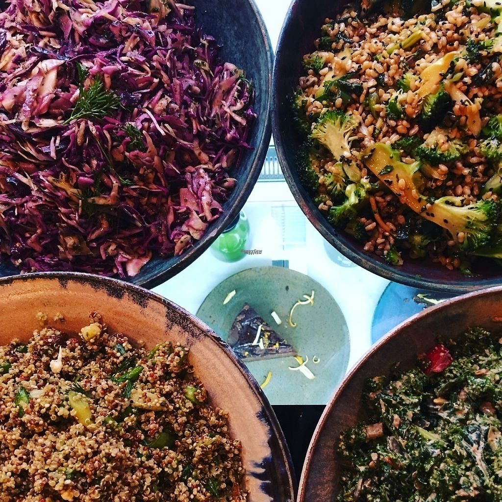 """Photo of YouJuice - North Rd  by <a href=""""/members/profile/Anita%40youjuice"""">Anita@youjuice</a> <br/>Delicious wholesome salads <br/> February 3, 2017  - <a href='/contact/abuse/image/86078/221728'>Report</a>"""