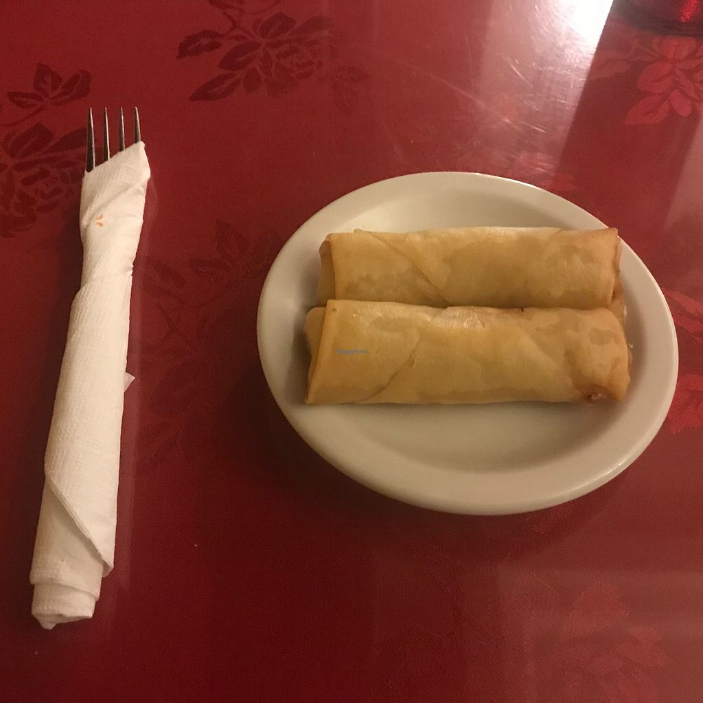 """Photo of New Chinatown  by <a href=""""/members/profile/FredrickTipton"""">FredrickTipton</a> <br/>Veggie Spring Roll <br/> July 11, 2017  - <a href='/contact/abuse/image/8608/278950'>Report</a>"""
