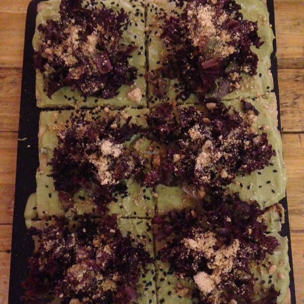 """Photo of Las Gringas  by <a href=""""/members/profile/Sabrinarossi14"""">Sabrinarossi14</a> <br/>vegan gluten free pizza <br/> March 20, 2017  - <a href='/contact/abuse/image/86094/238972'>Report</a>"""