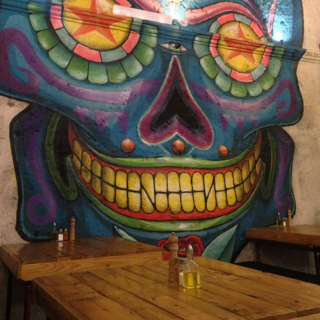 """Photo of Las Gringas  by <a href=""""/members/profile/Sabrinarossi14"""">Sabrinarossi14</a> <br/>restaurant artwork <br/> March 20, 2017  - <a href='/contact/abuse/image/86094/238974'>Report</a>"""