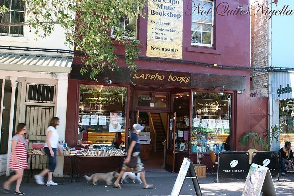 "Photo of Sappho Books Cafe & Bar  by <a href=""/members/profile/berrybluee"">berrybluee</a> <br/>Outside Bookstore <br/> January 27, 2017  - <a href='/contact/abuse/image/86098/218032'>Report</a>"