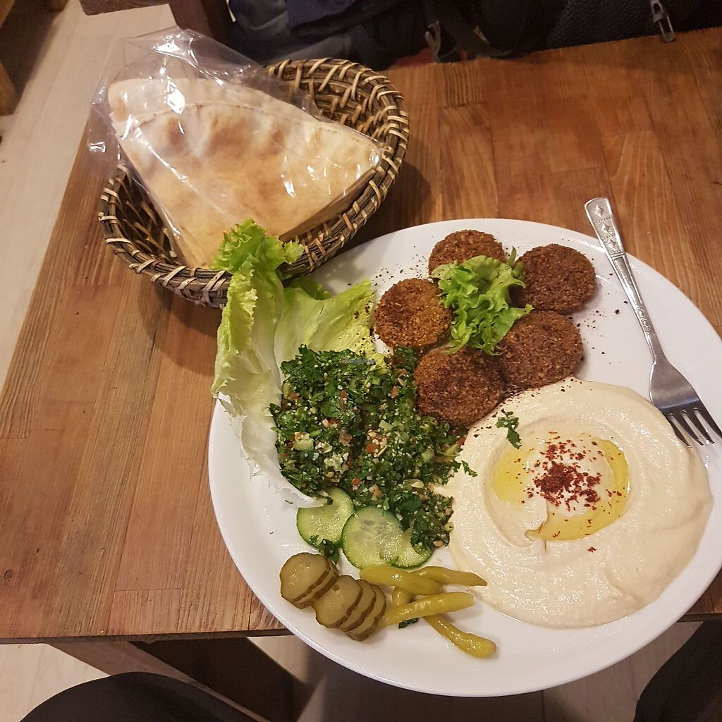 """Photo of Felafel Koy  by <a href=""""/members/profile/Bcauwood"""">Bcauwood</a> <br/>The best falafel ever ? <br/> November 28, 2017  - <a href='/contact/abuse/image/86103/330152'>Report</a>"""