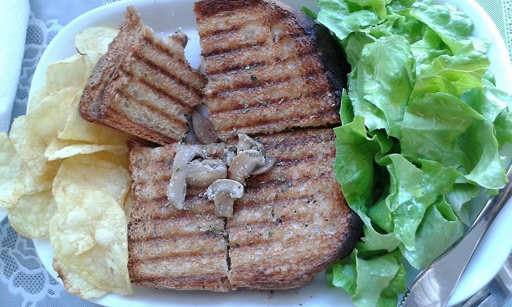 """Photo of Estefanea Cafe  by <a href=""""/members/profile/CNeves"""">CNeves</a> <br/>Mushroom toast <br/> March 24, 2017  - <a href='/contact/abuse/image/86105/240314'>Report</a>"""