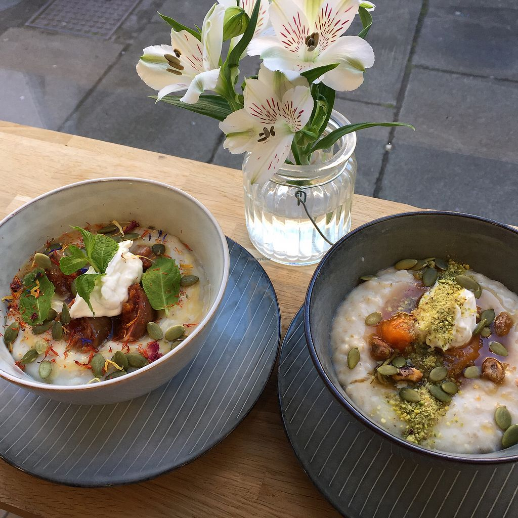 """Photo of Brochan  by <a href=""""/members/profile/koringal"""">koringal</a> <br/>Baked orange fig porridge and Rosemary apricot porridge  <br/> October 6, 2017  - <a href='/contact/abuse/image/86136/312301'>Report</a>"""