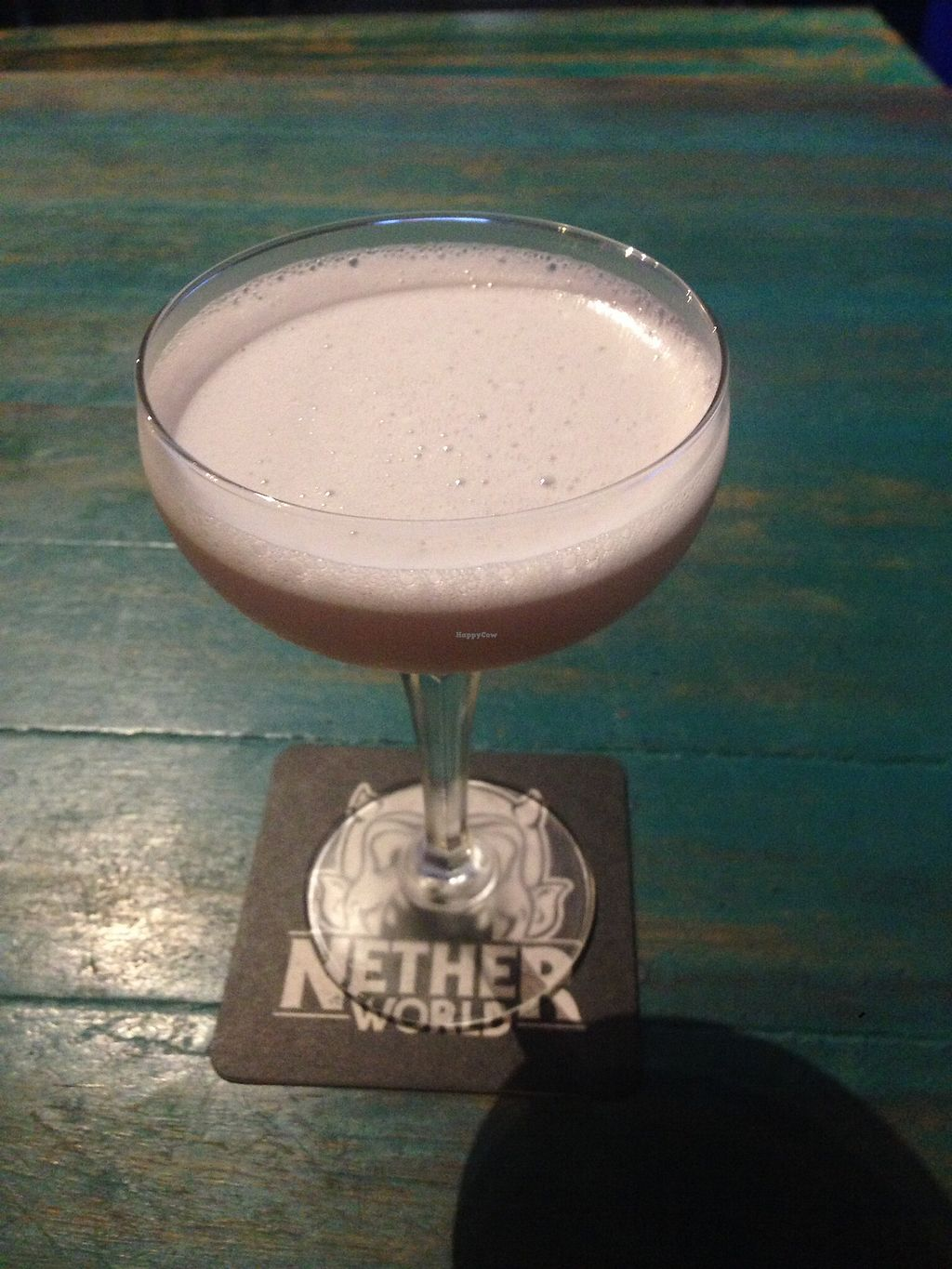 """Photo of Netherworld  by <a href=""""/members/profile/NirvanaRoseWilliams"""">NirvanaRoseWilliams</a> <br/>Vegan cocktail with aquafaba <br/> June 24, 2017  - <a href='/contact/abuse/image/86165/272783'>Report</a>"""