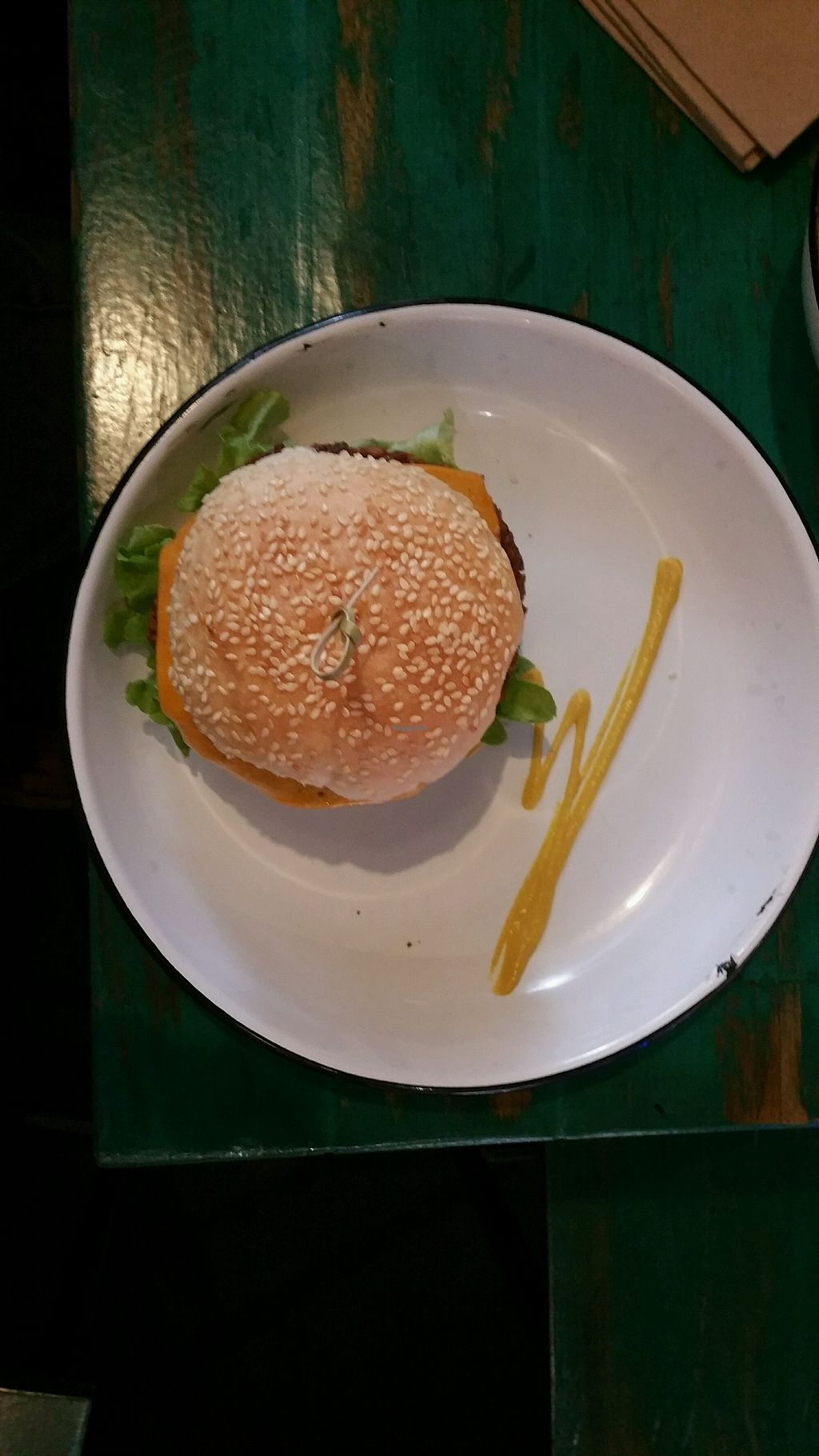 """Photo of Netherworld  by <a href=""""/members/profile/Mike%20Munsie"""">Mike Munsie</a> <br/>vegan burgatory burger <br/> April 15, 2018  - <a href='/contact/abuse/image/86165/386138'>Report</a>"""