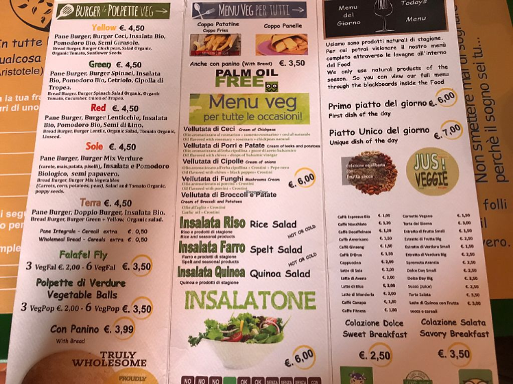 """Photo of JustVeggie  by <a href=""""/members/profile/YvS"""">YvS</a> <br/>the menu <br/> May 12, 2017  - <a href='/contact/abuse/image/86181/258125'>Report</a>"""