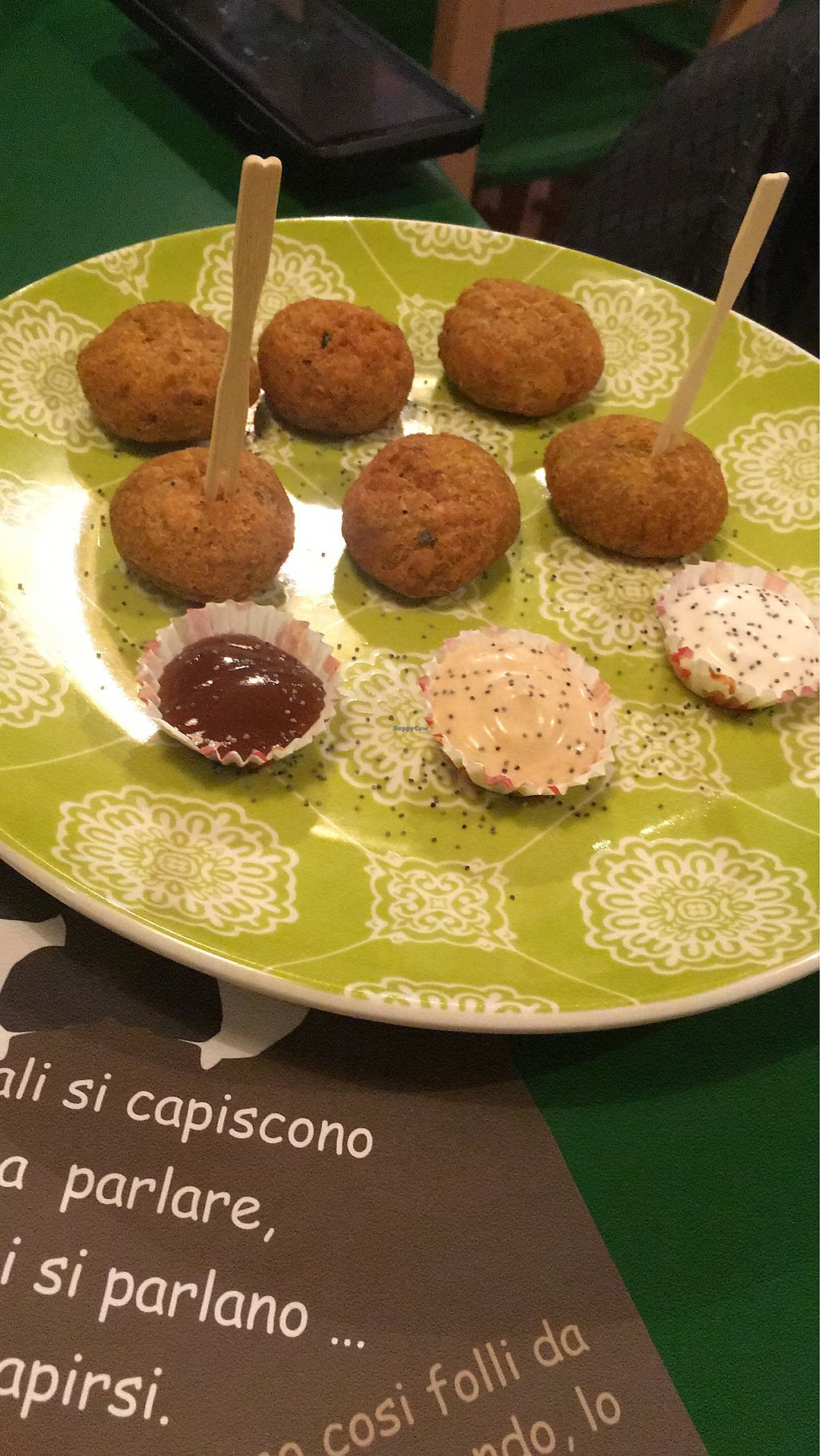 """Photo of JustVeggie  by <a href=""""/members/profile/VeganAbroad"""">VeganAbroad</a> <br/>Falafel  <br/> February 26, 2018  - <a href='/contact/abuse/image/86181/364105'>Report</a>"""