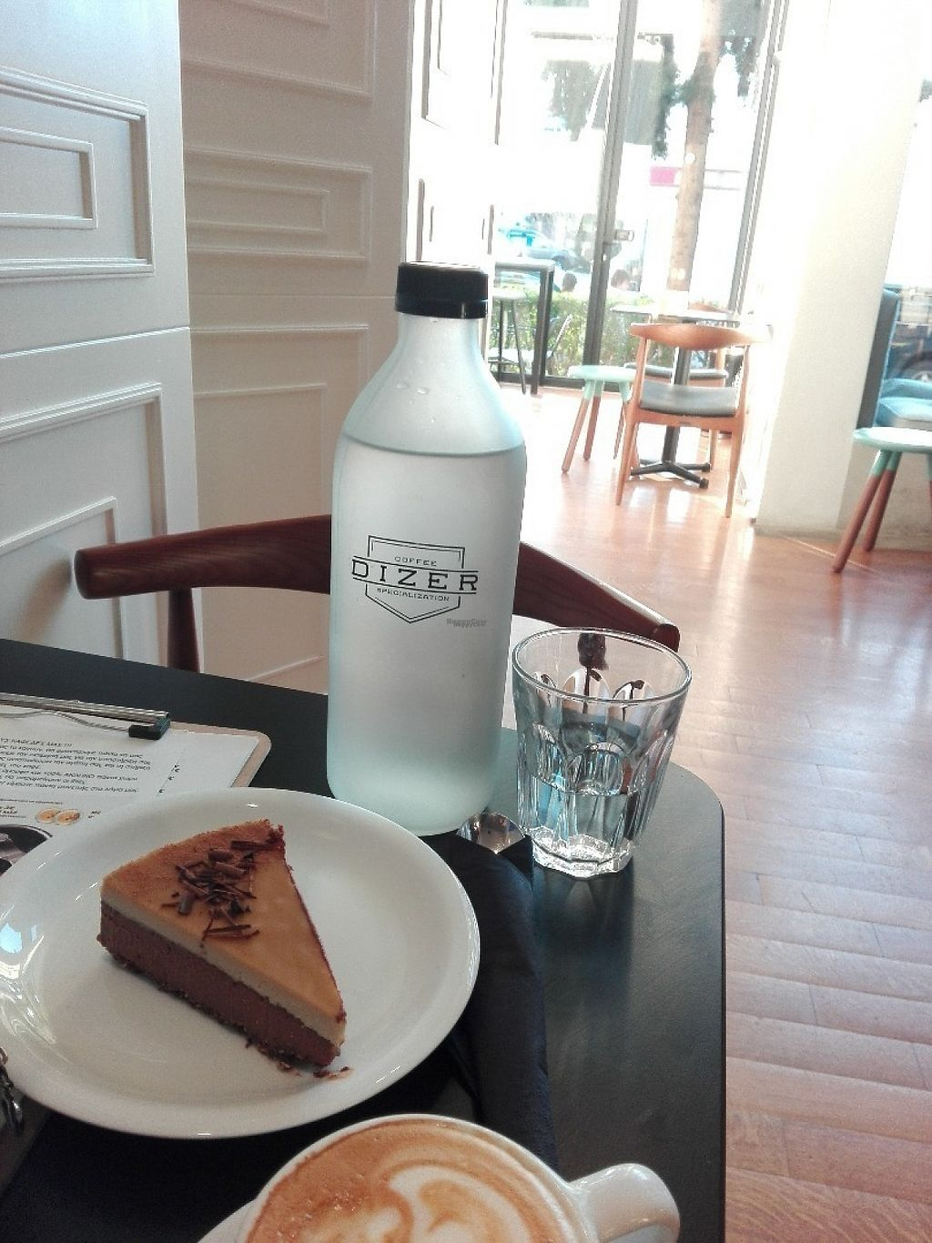 "Photo of Dizer Coffee Specialization  by <a href=""/members/profile/ElisaGR"">ElisaGR</a> <br/>Moca vegan cheese cake made by Vegan Fairies! <br/> February 25, 2017  - <a href='/contact/abuse/image/86208/230389'>Report</a>"