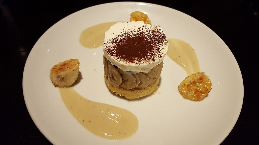 "Photo of The Gate - Seymour Place  by <a href=""/members/profile/VeganAnnaS"">VeganAnnaS</a> <br/>Vegan banoffee pie <br/> January 28, 2017  - <a href='/contact/abuse/image/86221/218660'>Report</a>"