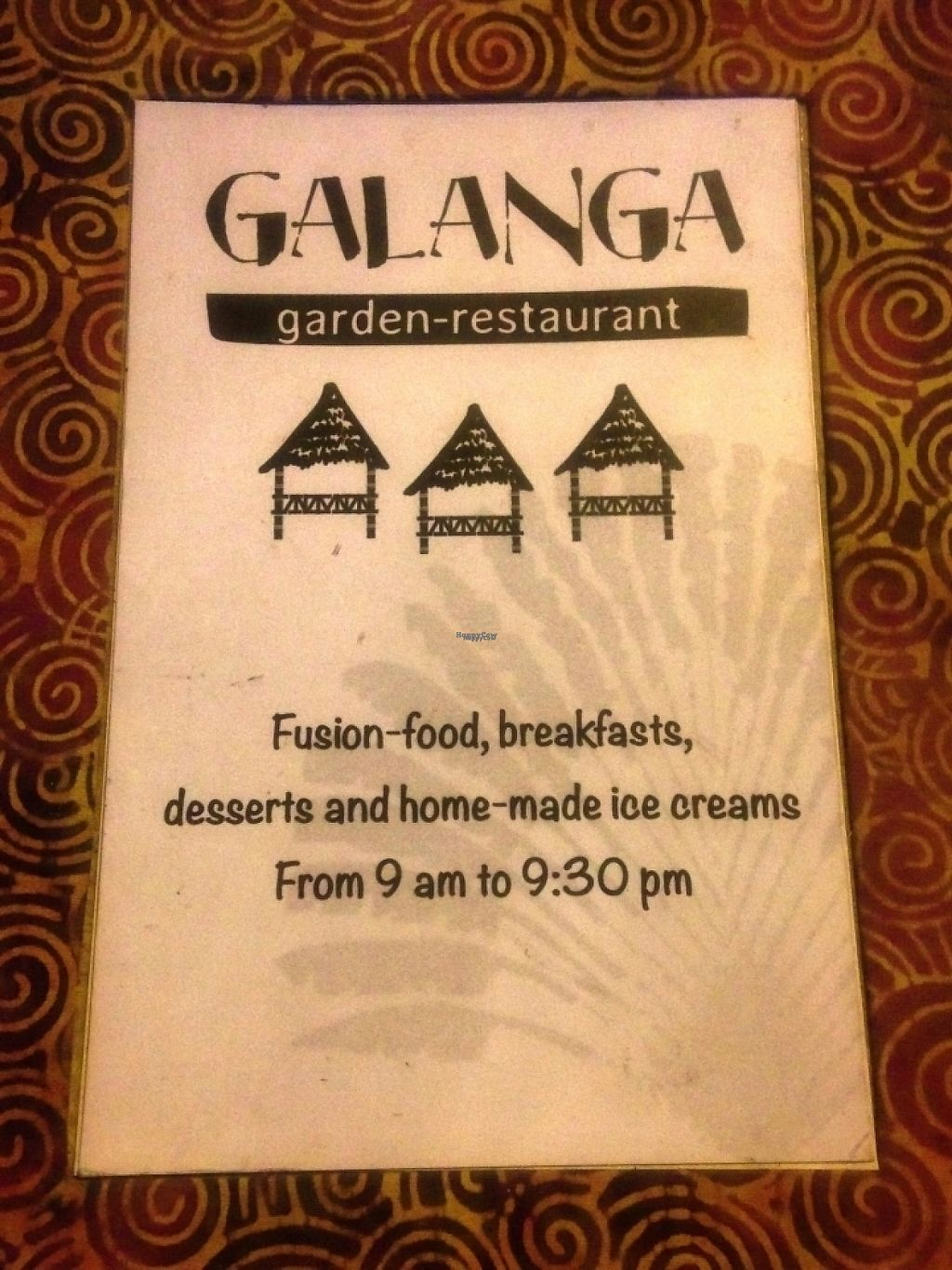 """Photo of Galanga  by <a href=""""/members/profile/becx.ray"""">becx.ray</a> <br/>Menu is also available in français <br/> January 31, 2017  - <a href='/contact/abuse/image/86237/220134'>Report</a>"""