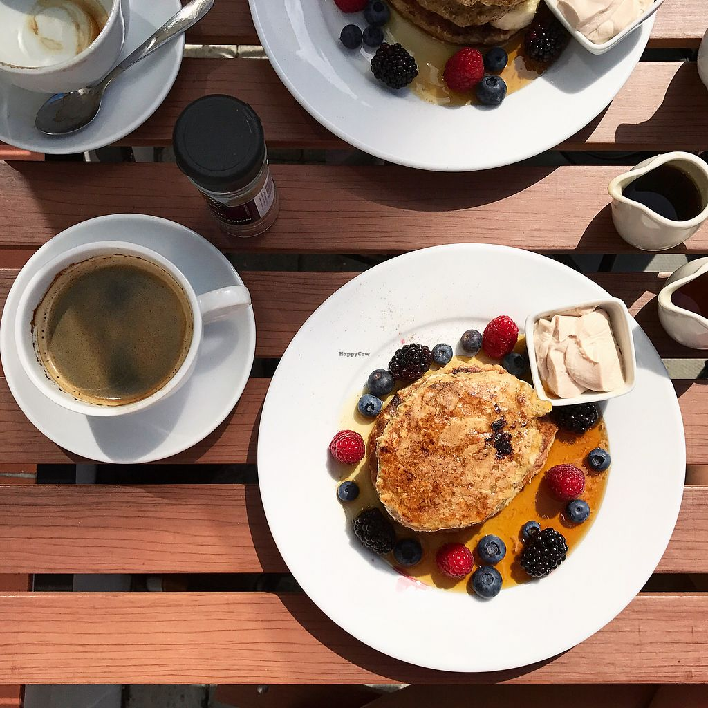 """Photo of Pure Nest  by <a href=""""/members/profile/thecharlotte"""">thecharlotte</a> <br/>Vegan & GF pancakes  <br/> August 23, 2017  - <a href='/contact/abuse/image/86242/296490'>Report</a>"""
