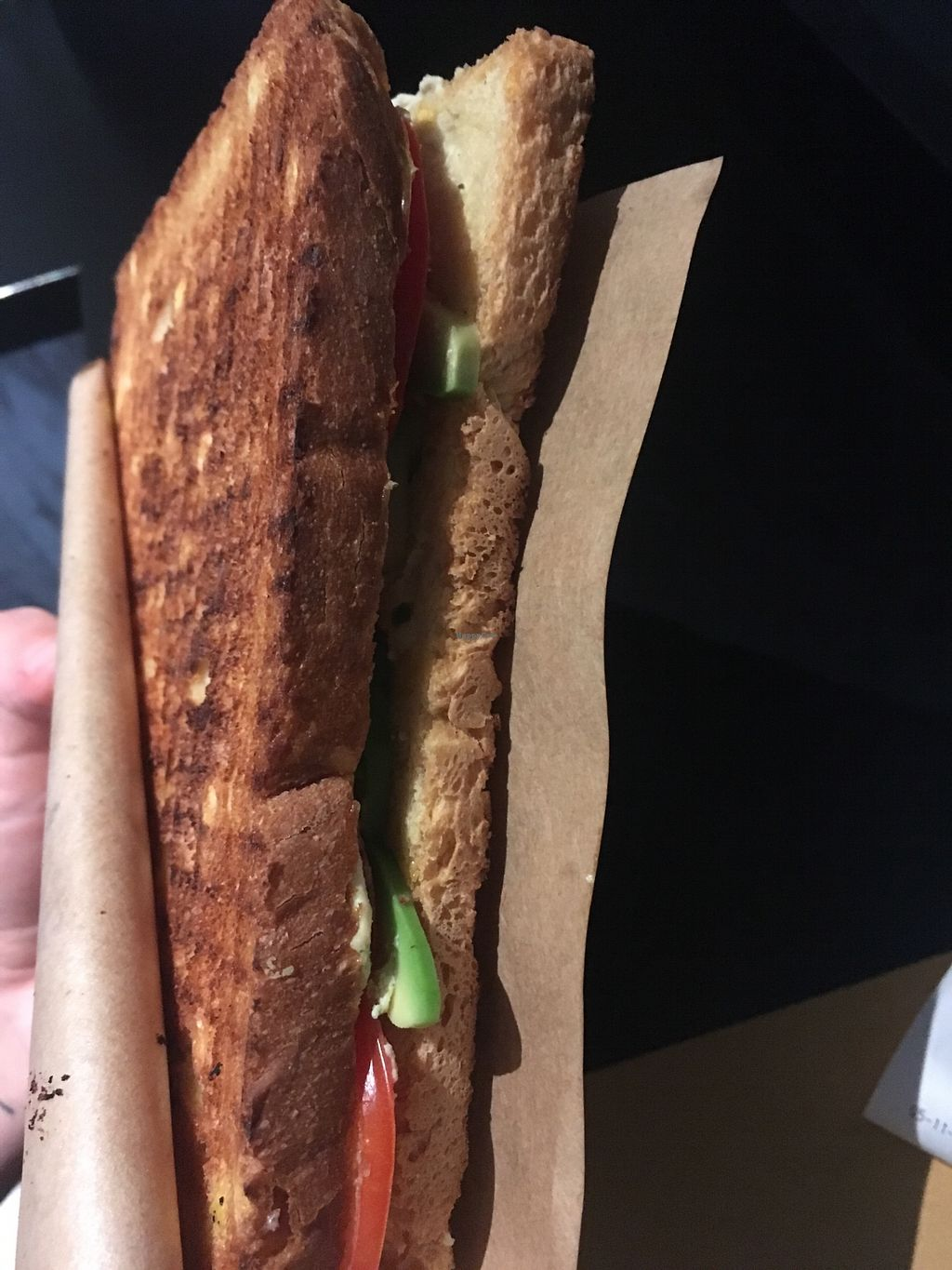 "Photo of streeTOAST  by <a href=""/members/profile/EliseBoccanfuso"">EliseBoccanfuso</a> <br/>An unfortunately not particularly enlightening photo of their vegan Malibu sandwich. It was good! :) <br/> November 14, 2017  - <a href='/contact/abuse/image/86252/325671'>Report</a>"