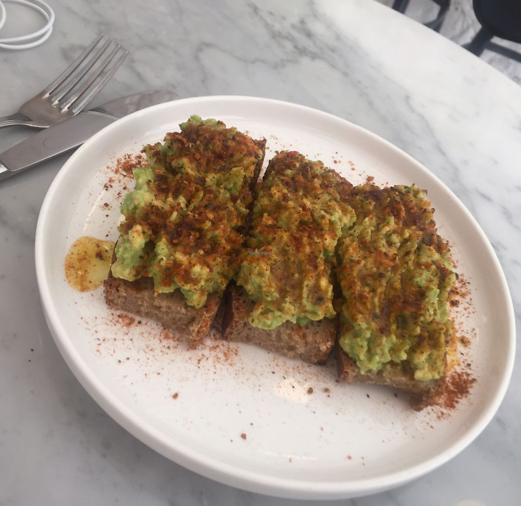 "Photo of Love Juice Bar  by <a href=""/members/profile/langwillar"">langwillar</a> <br/>avocado on toasts ???❤️ <br/> May 12, 2017  - <a href='/contact/abuse/image/86271/258231'>Report</a>"