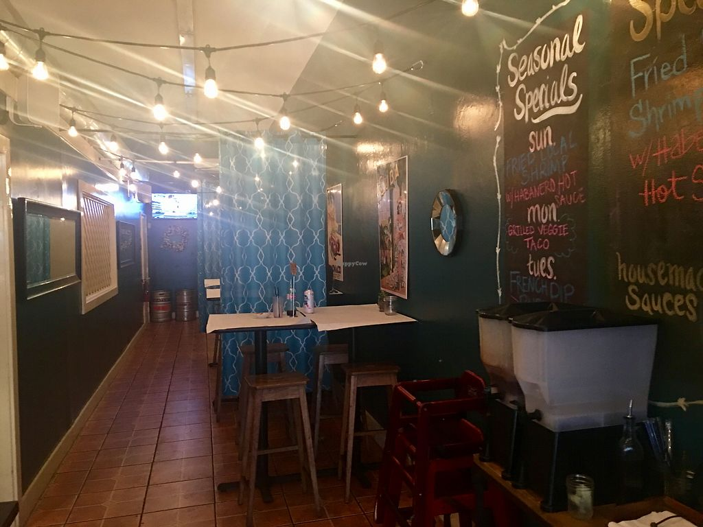 """Photo of Corner Taco  by <a href=""""/members/profile/myra975"""">myra975</a> <br/>Rear Dining <br/> September 9, 2017  - <a href='/contact/abuse/image/86274/302420'>Report</a>"""