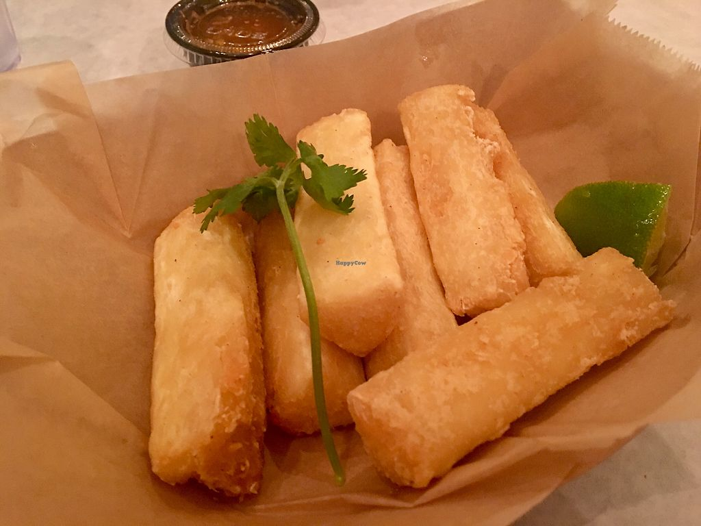 """Photo of Corner Taco  by <a href=""""/members/profile/myra975"""">myra975</a> <br/>Yucca Fries ($2.95) <br/> September 9, 2017  - <a href='/contact/abuse/image/86274/302424'>Report</a>"""