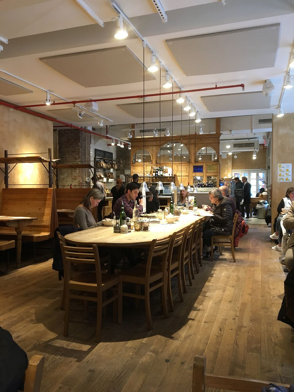"Photo of Le Pain Quotidien - 97th & Madison  by <a href=""/members/profile/JJones315"">JJones315</a> <br/>Interior <br/> April 17, 2018  - <a href='/contact/abuse/image/86277/387324'>Report</a>"