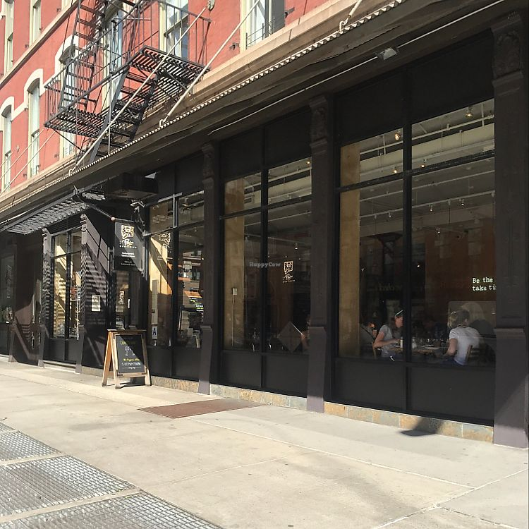 "Photo of Le Pain Quotidien - Tribeca  by <a href=""/members/profile/Miss.Saye"">Miss.Saye</a> <br/>right on the corner of Broadway and Warren <br/> June 20, 2017  - <a href='/contact/abuse/image/86300/271499'>Report</a>"