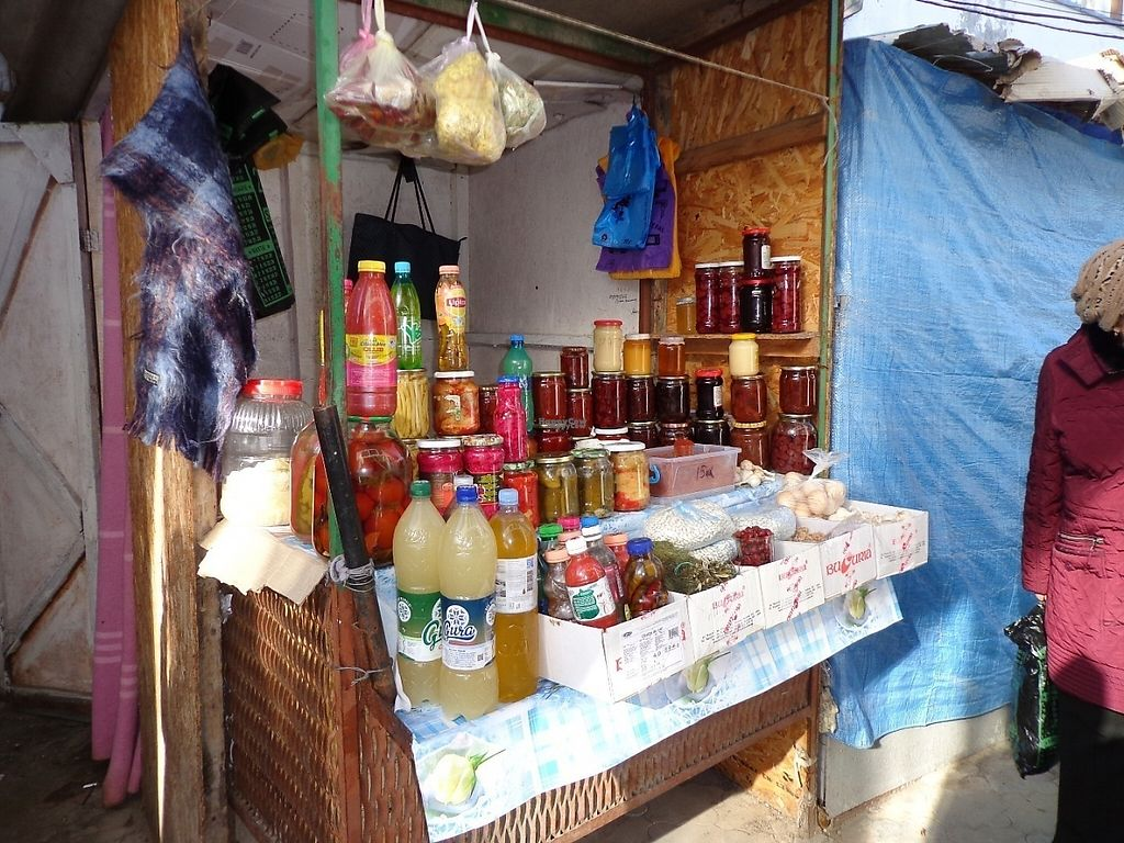"""Photo of Street Market  by <a href=""""/members/profile/constantinfurtuna"""">constantinfurtuna</a> <br/>People from villages are selling at Street Market all waht they produce at home, for ex. pickled and fermented vegetables, home made jem, compote <br/> January 31, 2017  - <a href='/contact/abuse/image/86304/220293'>Report</a>"""