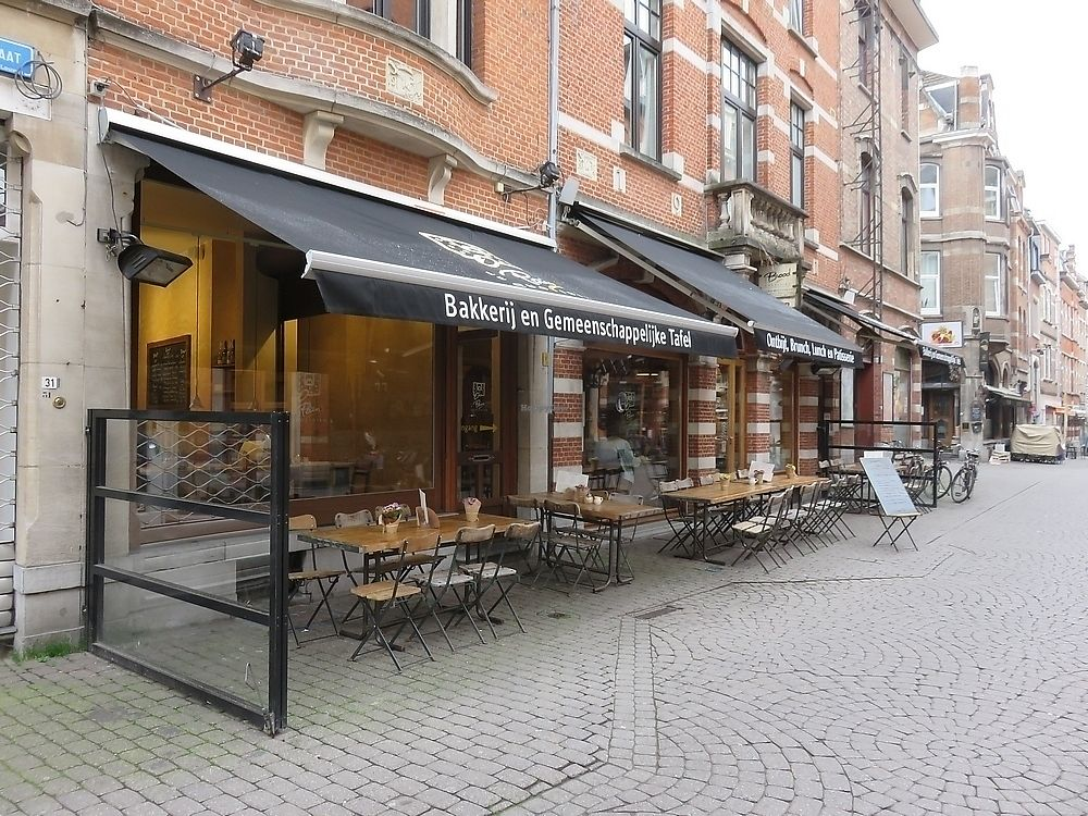 """Photo of Le Pain Quotidien  by <a href=""""/members/profile/TrudiBruges"""">TrudiBruges</a> <br/>terrace at Le Pain Quotidien, Louvain <br/> September 25, 2017  - <a href='/contact/abuse/image/86340/308208'>Report</a>"""
