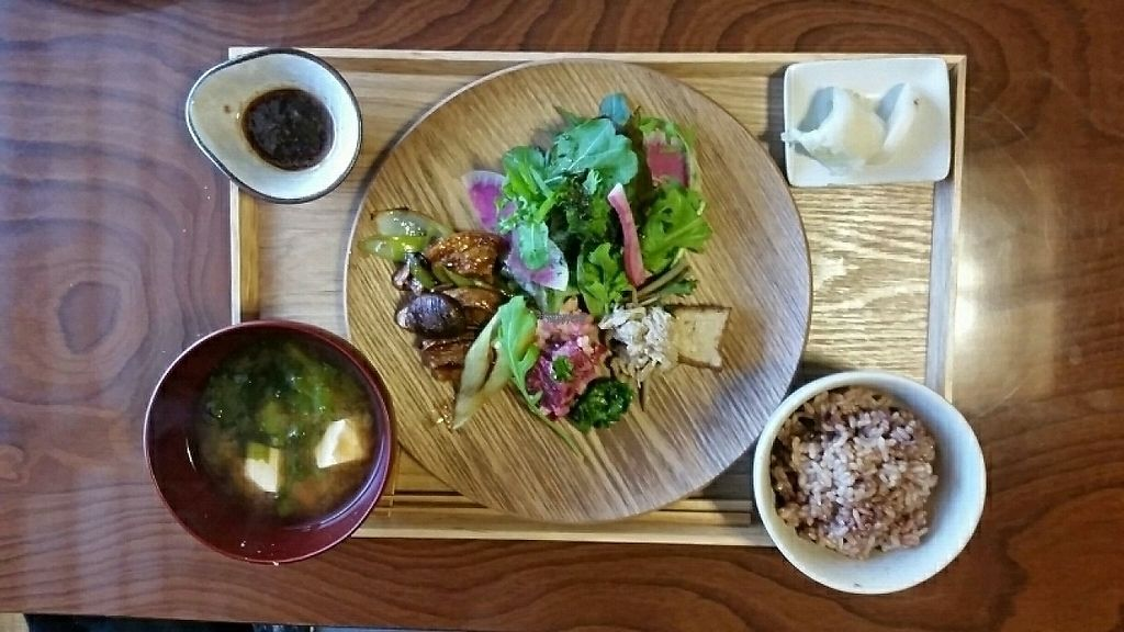 """Photo of Veggie Ya  by <a href=""""/members/profile/belldandy"""">belldandy</a> <br/>Lunch special with teriyaki 'meat' <br/> January 31, 2017  - <a href='/contact/abuse/image/86356/220035'>Report</a>"""