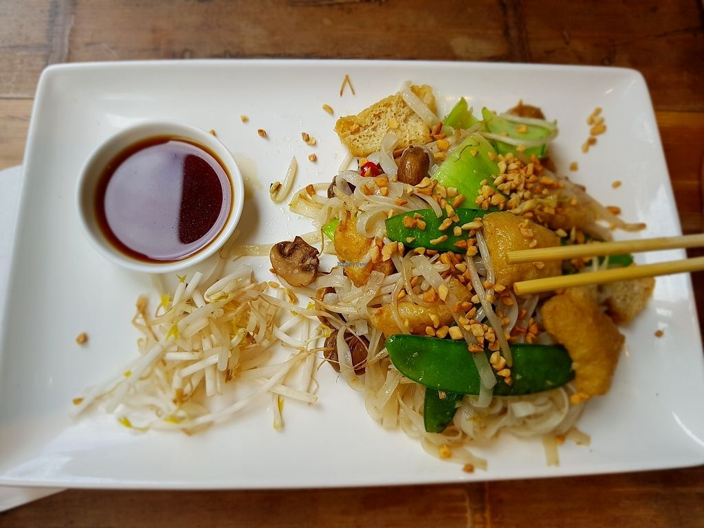 """Photo of Pho  by <a href=""""/members/profile/Heliotropka"""">Heliotropka</a> <br/>wok fried noodles with tofu <br/> August 5, 2017  - <a href='/contact/abuse/image/86376/289296'>Report</a>"""