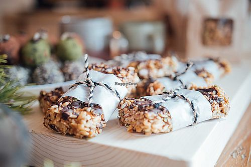 "Photo of The Heart Cafe  by <a href=""/members/profile/EmmaCebuliak"">EmmaCebuliak</a> <br/>Chocolate oat bars <br/> August 15, 2017  - <a href='/contact/abuse/image/86378/292787'>Report</a>"