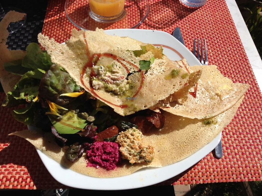 """Photo of Biocreperia RiscoCaido  by <a href=""""/members/profile/EaB"""">EaB</a> <br/>delicious vegan crepes, still dreaming of the tasty dips ❤? <br/> March 6, 2017  - <a href='/contact/abuse/image/86382/233296'>Report</a>"""