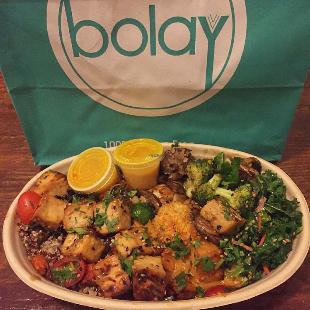 "Photo of Bolay  by <a href=""/members/profile/VeganNole"">VeganNole</a> <br/>I ordered one of every vegan thing. ? <br/> February 1, 2017  - <a href='/contact/abuse/image/86404/220407'>Report</a>"