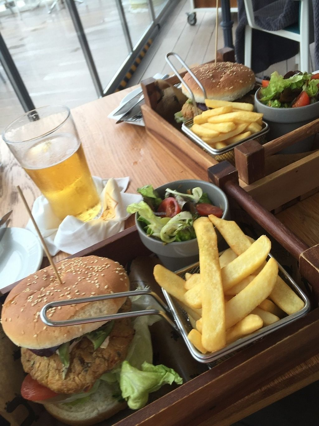 """Photo of Naar RestoBar  by <a href=""""/members/profile/PlanetJanet"""">PlanetJanet</a> <br/>The vegan burger was amazing! <br/> April 3, 2017  - <a href='/contact/abuse/image/86405/244446'>Report</a>"""