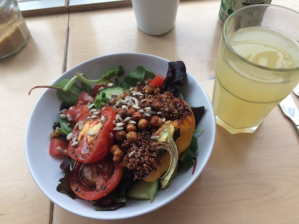 "Photo of Larder  by <a href=""/members/profile/SaraBarker"">SaraBarker</a> <br/>Quinoa Buddha bowl.  <br/> April 10, 2017  - <a href='/contact/abuse/image/86440/246707'>Report</a>"