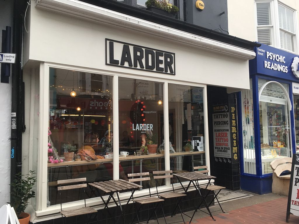 "Photo of Larder  by <a href=""/members/profile/jojoinbrighton"">jojoinbrighton</a> <br/>LARDER <br/> August 5, 2017  - <a href='/contact/abuse/image/86440/288965'>Report</a>"