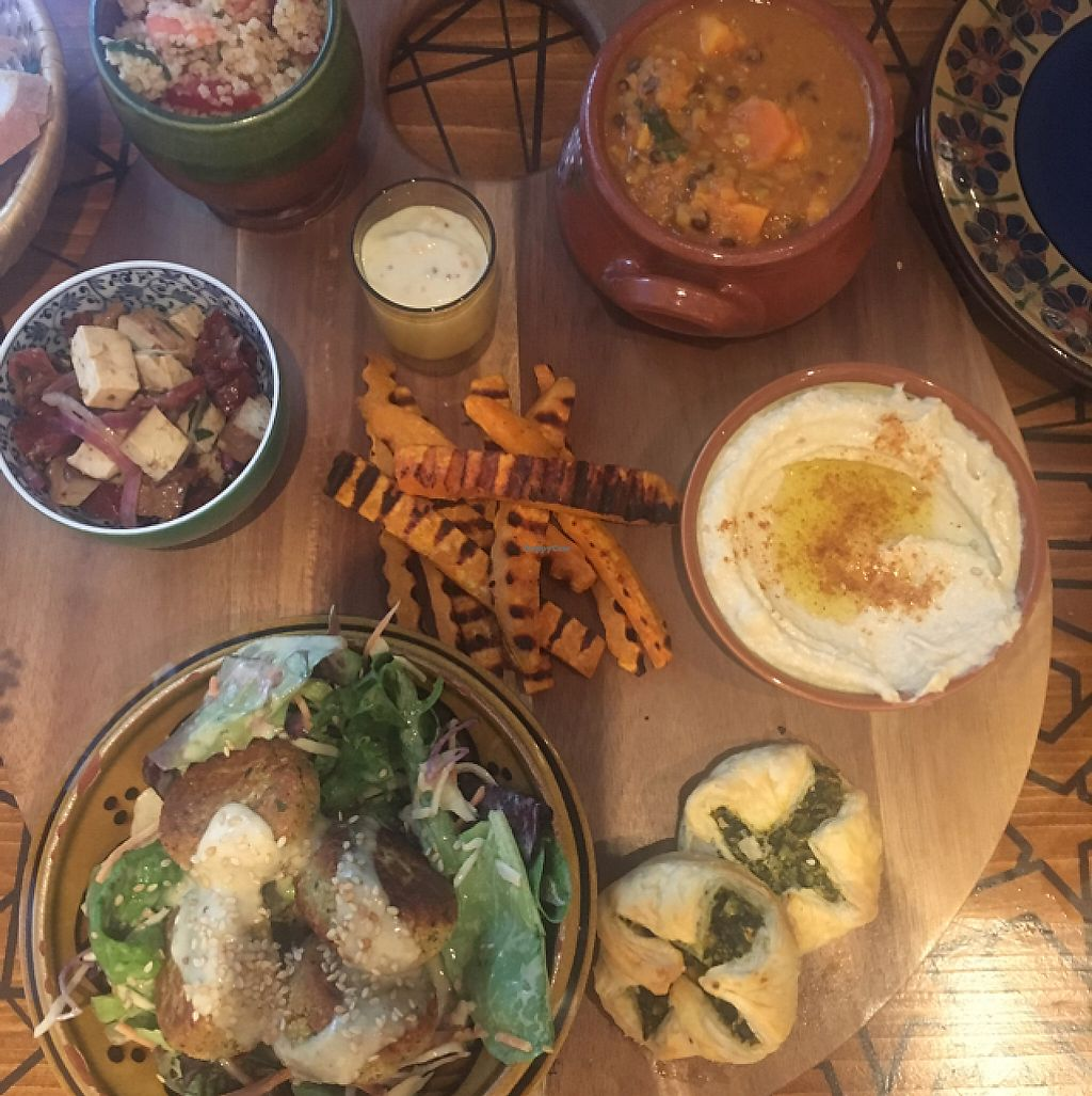 """Photo of Blend Teehaus  by <a href=""""/members/profile/LizSwinton"""">LizSwinton</a> <br/>The surprise mezze platter was delicious.  <br/> May 28, 2017  - <a href='/contact/abuse/image/86442/263279'>Report</a>"""