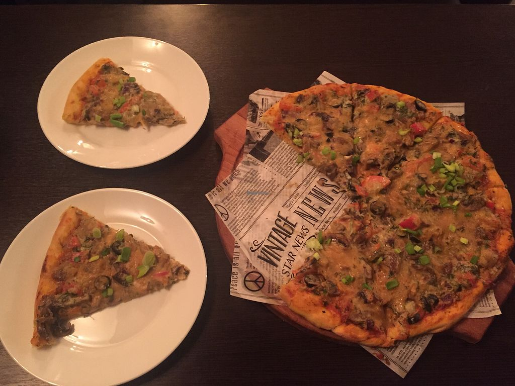 """Photo of Ugol  by <a href=""""/members/profile/sinus"""">sinus</a> <br/>Mushroom pizza  <br/> February 5, 2018  - <a href='/contact/abuse/image/86459/355277'>Report</a>"""