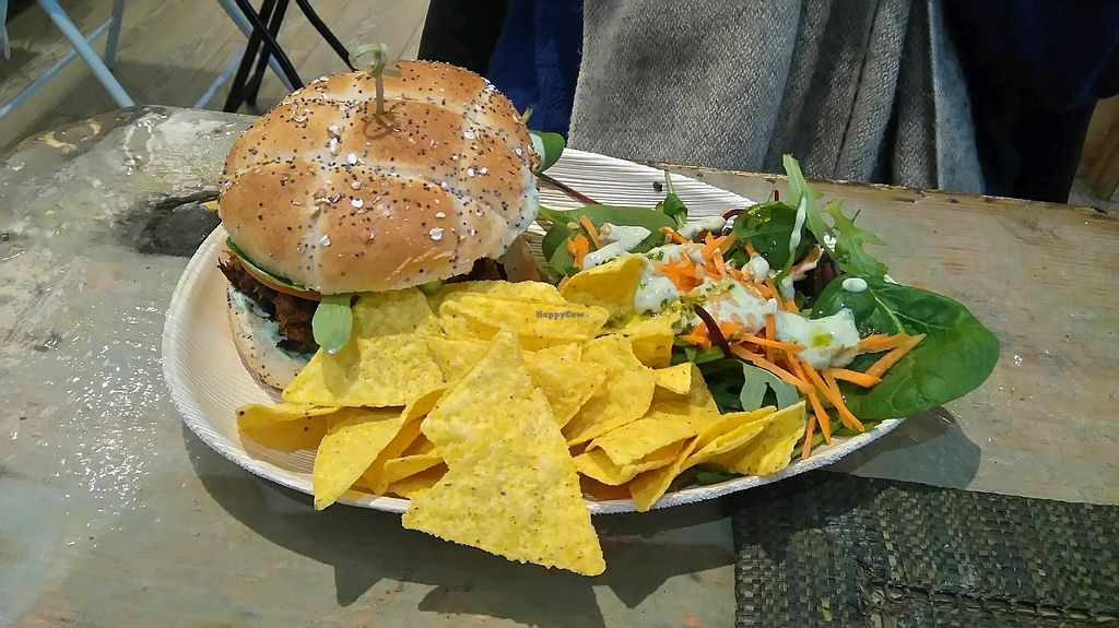 """Photo of Graze  by <a href=""""/members/profile/Angereb"""">Angereb</a> <br/>Thai burger with house salad dressing <br/> March 13, 2018  - <a href='/contact/abuse/image/86499/370170'>Report</a>"""