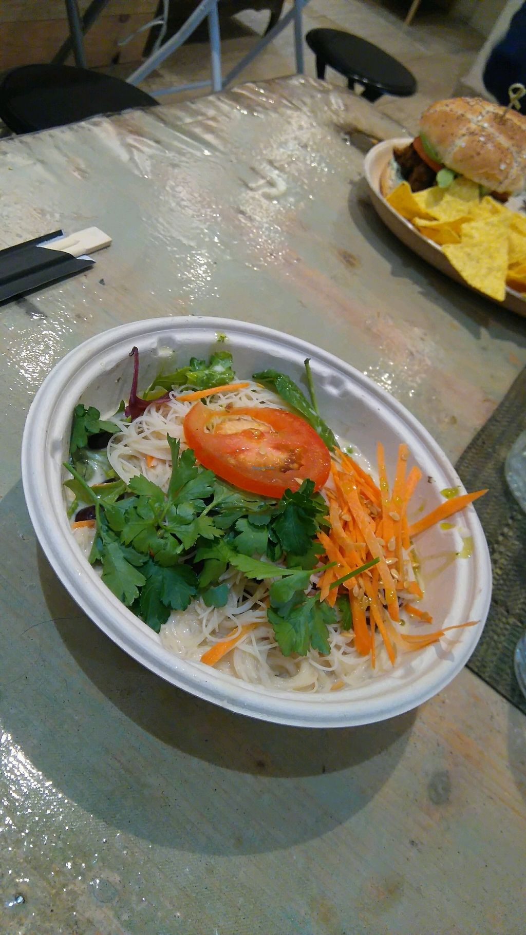 """Photo of Graze  by <a href=""""/members/profile/Angereb"""">Angereb</a> <br/>Coconut ramen with pinto beans <br/> March 13, 2018  - <a href='/contact/abuse/image/86499/370171'>Report</a>"""