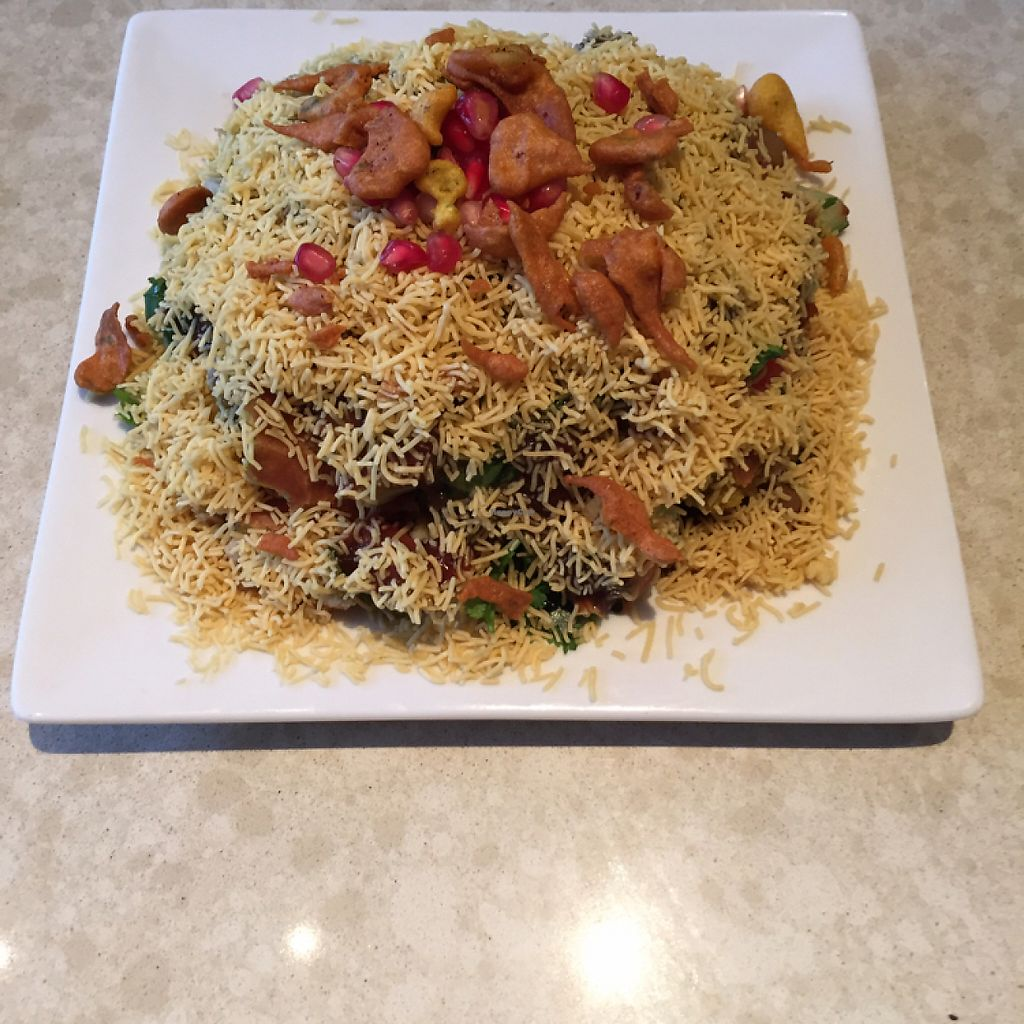 """Photo of Tiwari Tea House  by <a href=""""/members/profile/Wuji_Luiji"""">Wuji_Luiji</a> <br/>and still more delicious vegan food <br/> May 19, 2017  - <a href='/contact/abuse/image/86507/260214'>Report</a>"""