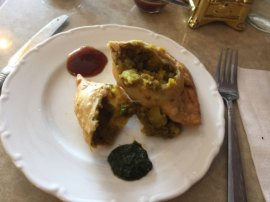 """Photo of Tiwari Tea House  by <a href=""""/members/profile/Tiggy"""">Tiggy</a> <br/>Samosa filling - spicy and yum <br/> November 29, 2017  - <a href='/contact/abuse/image/86507/330340'>Report</a>"""