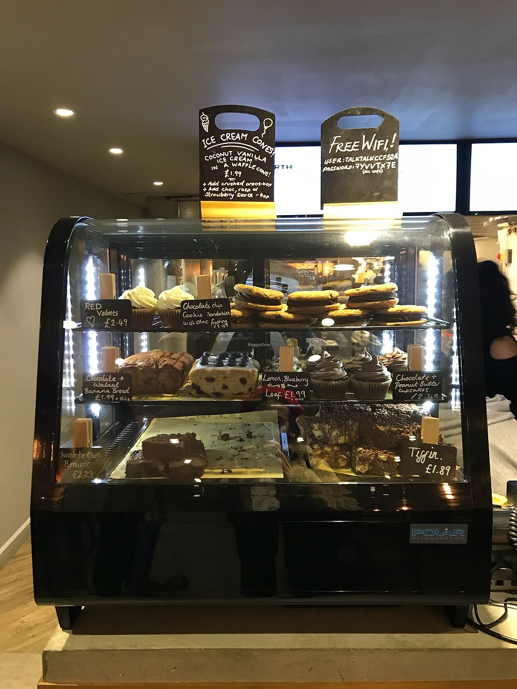 """Photo of Earth Restaurant & Takeaway  by <a href=""""/members/profile/AnaBanannaPancake"""">AnaBanannaPancake</a> <br/>Amazing selection of cakes  <br/> November 12, 2017  - <a href='/contact/abuse/image/86514/324632'>Report</a>"""