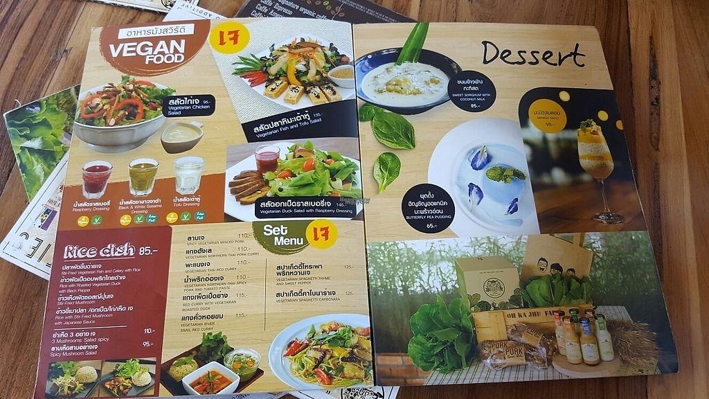 "Photo of Ohkajhu Organic Restaurant  by <a href=""/members/profile/GuruYoga"">GuruYoga</a> <br/>vegan option <br/> February 4, 2017  - <a href='/contact/abuse/image/86519/221938'>Report</a>"