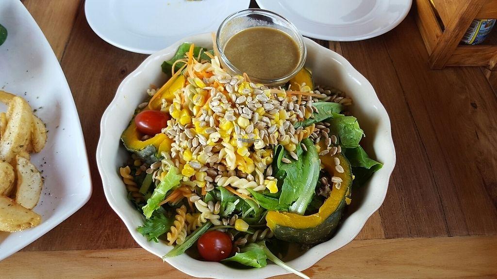 "Photo of Ohkajhu Organic Restaurant  by <a href=""/members/profile/GuruYoga"">GuruYoga</a> <br/>Organic Salad yummm <br/> February 10, 2017  - <a href='/contact/abuse/image/86519/224904'>Report</a>"