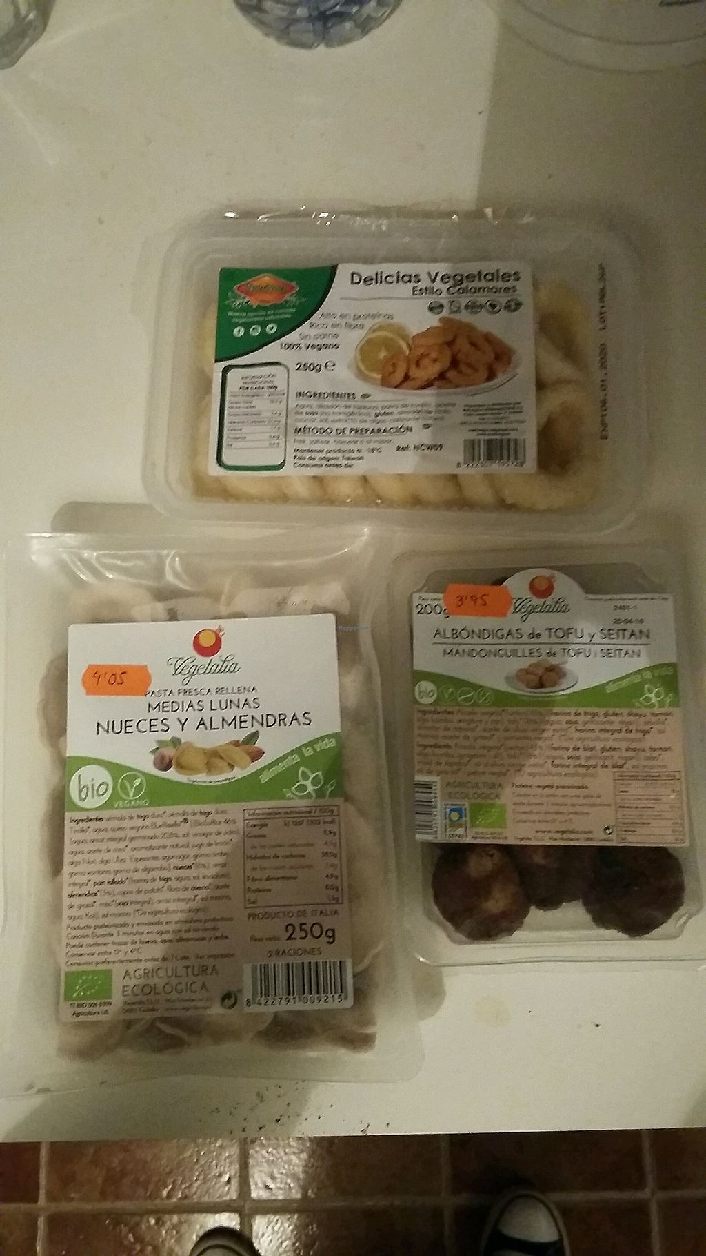 """Photo of Happy Vegetal  by <a href=""""/members/profile/Vegan-Vinyl-Avengers"""">Vegan-Vinyl-Avengers</a> <br/>Frozen vegan food from Happy Vegetal  <br/> March 1, 2018  - <a href='/contact/abuse/image/86522/365354'>Report</a>"""