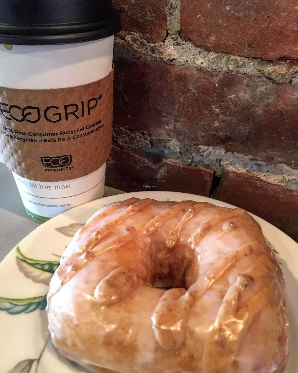 "Photo of First Village Coffee  by <a href=""/members/profile/LilMsVegan"">LilMsVegan</a> <br/>Peaceful Provisions Vegan Donuts are HEAVEN on Earth!  <br/> November 8, 2017  - <a href='/contact/abuse/image/86545/323415'>Report</a>"