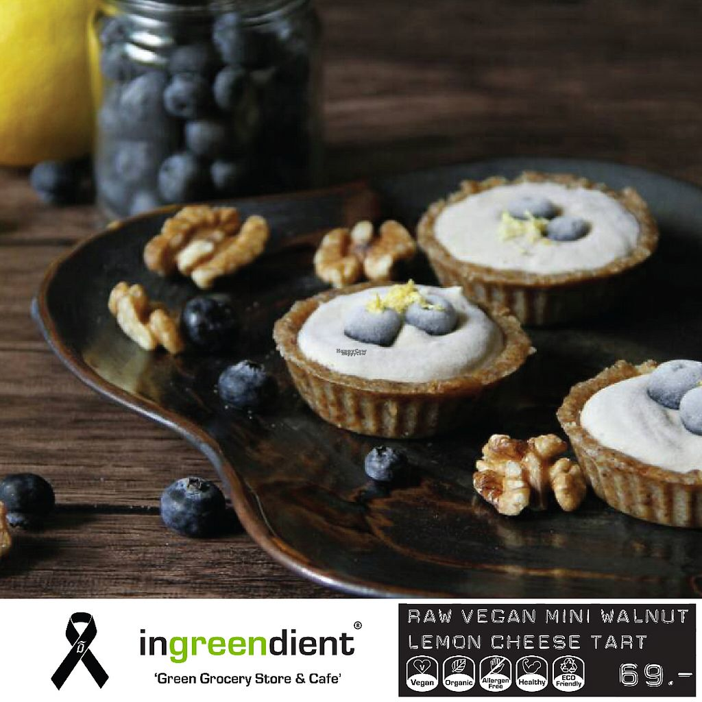 """Photo of CLOSED: Ingreendient  by <a href=""""/members/profile/Hidae"""">Hidae</a> <br/>Raw Vegan Mini Walnut Lemon Cheese Tart <br/> February 16, 2017  - <a href='/contact/abuse/image/86599/227086'>Report</a>"""
