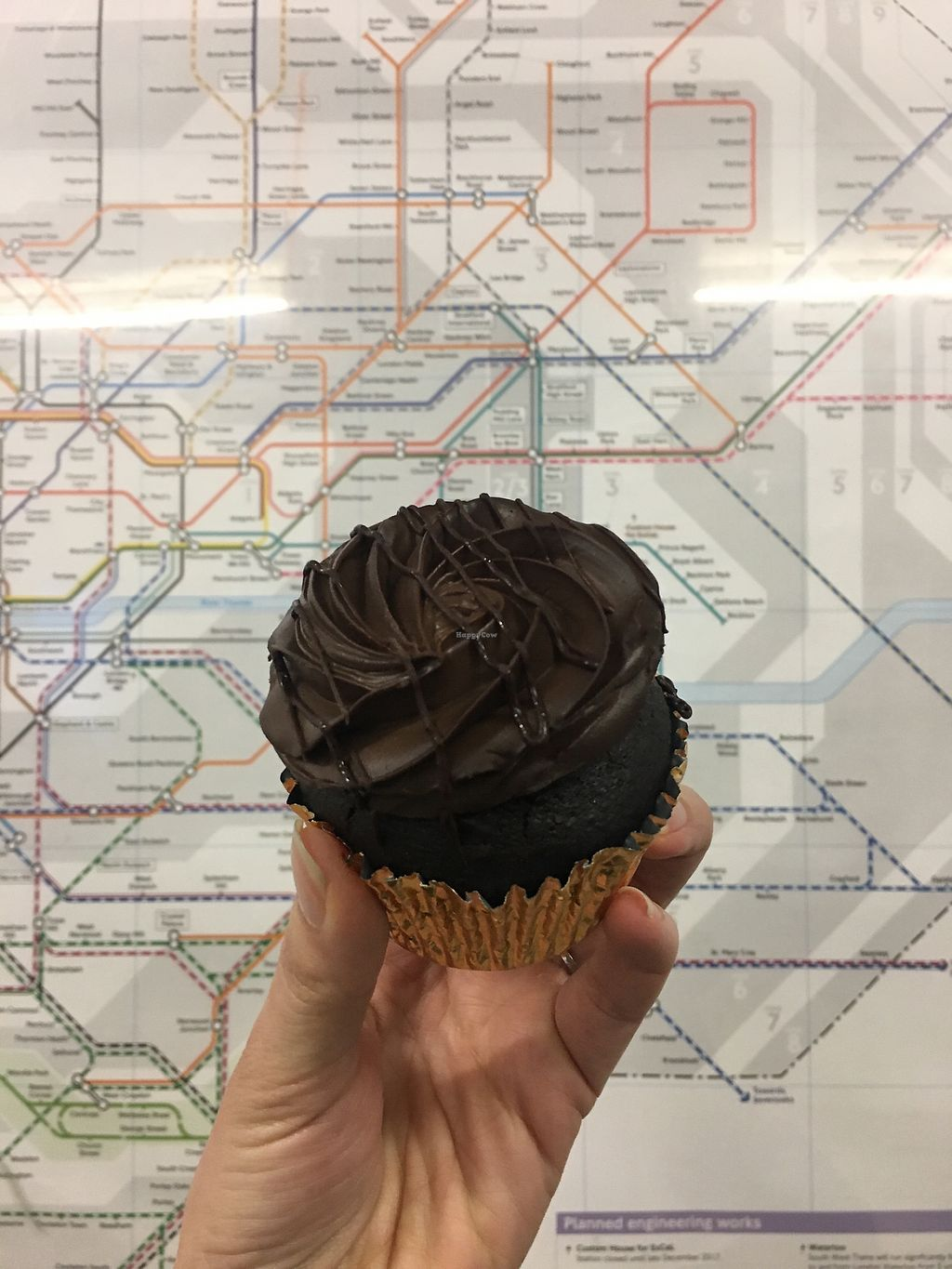 """Photo of Lola's Cupcakes  by <a href=""""/members/profile/natalieabad9"""">natalieabad9</a> <br/>Vegan chocolate cupcake  <br/> January 23, 2018  - <a href='/contact/abuse/image/86617/350162'>Report</a>"""