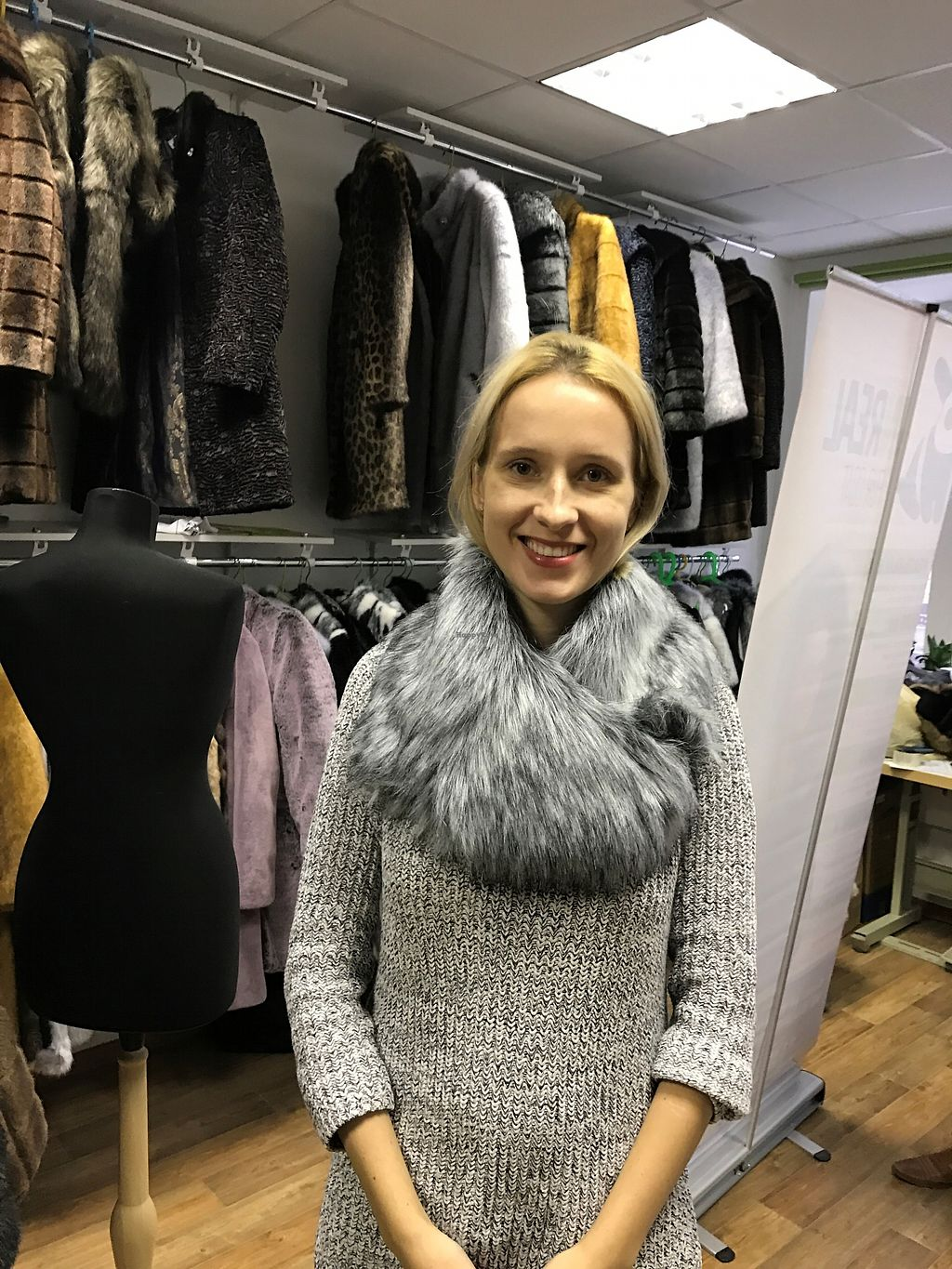 """Photo of UNREAL Fur Coat  by <a href=""""/members/profile/YoungLancashire"""">YoungLancashire</a> <br/>This will keep you warm and animals well! <br/> January 3, 2018  - <a href='/contact/abuse/image/86631/342559'>Report</a>"""
