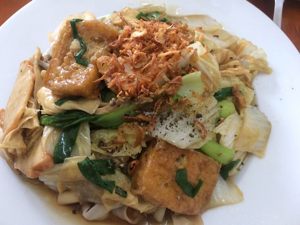 """Photo of Ngoc Huong  by <a href=""""/members/profile/FatTonyBMX"""">FatTonyBMX</a> <br/>Fried noodles with vegetables, tofu, and mock meats <br/> February 5, 2017  - <a href='/contact/abuse/image/86639/223500'>Report</a>"""